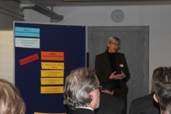 """Mirjam Häubi führte ins Thema """"die Rolle der Personalentwicklung im Rahmen der Strategieumsetzung"""" ein."""
