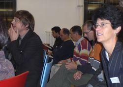Den Referaten wurde nicht nur aufmerksam gelauscht, die Teilnehmenden nutzten auch die Gelegenheit zur Diskussion.