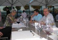 """Das Essen des Grand Hotels war ausgezeichnet und die Gelegenheit, das """"Miteinander""""- einmal wieder ohne die Arbeit - geniessen zu können, wurde aktiv genutzt."""