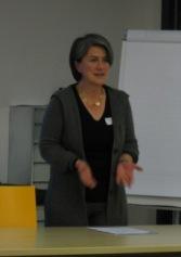 Petra Hämmerle hat ins Thema eingeführt und dabei die Rolle der Regulatoren bei der Corporate Governance dargestellt.