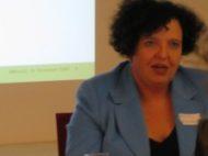 Dr. Katharina Rüdlinger, Leiterin Ad hoc-Publizität, Corporate Governance und Meldepflichten der SIX Swiss Exchange AG, verwies in ihrem Referat auf die Interessen der Börse in ihrer Rolle als Regulator. Dabei beleuchtete sie die Bedeutung von Transparenz für eine Good Governance.