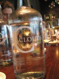 Fängt man Clouds in einer Flasche ein, wird daraus H2O.