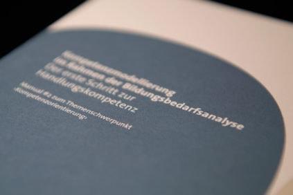 Kompetenzmodellierung im Rahmen der Bildungsbedarfsanalyse