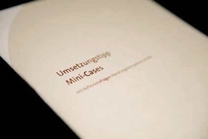 Umsetzungstipp Mini Cases