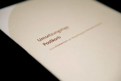 Umsetzungstipp Postkorb