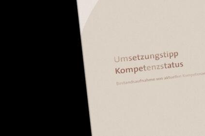 Umsetzungstipp Kompetenzstatus